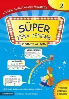 Altın Nokta Yayınları 2. Sınıf Süper Zeka Çözümlü 5 Deneme