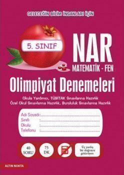 Altın Nokta Yayınları5. Sınıf Matematik Fen Olimpiyat Denemeleri