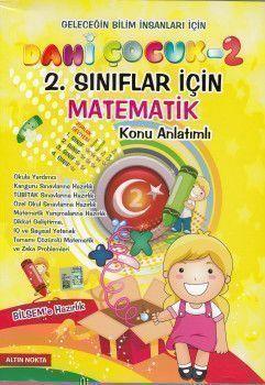 Altın Nokta Yayınları 2. Sınıf Dahi Çocuk Matematik Konu anlatımlı