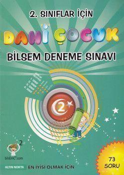 Altın Nokta Yayınları 2. Sınıf Dahi Çocuk Bilsem Deneme