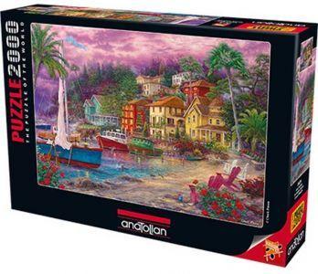 Altın Sahilde / On Golden Shores 2000 Parça Puzzle - Yapboz