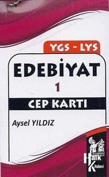 Altınpost Yayıncılık YGS LYS Edebiyat 1 Cep Kartı
