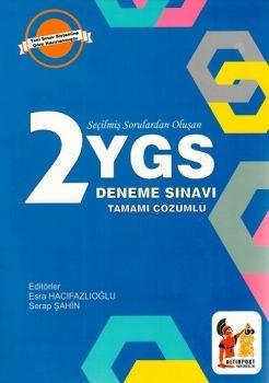 Altınpost Yayınları YGS Tamamı Çözümlü 2 Deneme Sınavı
