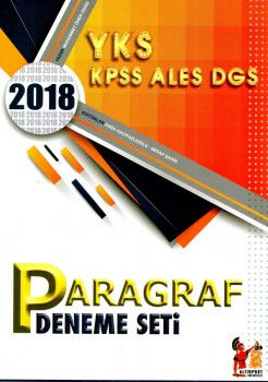 Altınpost Yayınları YKS KPSS ALES DGS Paragraf 5 li Deneme Seti