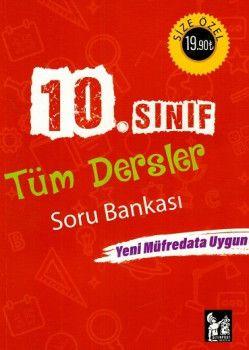 Altınpost Yayınları 10. Sınıf Tüm Dersler Soru Bankası