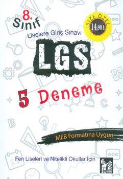 Altınpost Yayınları 8. Sınıf LGS 5 Deneme Sınavı