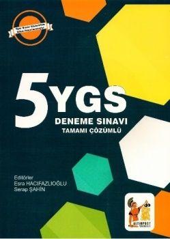 Altınpost YGS Çözümlü 5 Deneme Sınavı