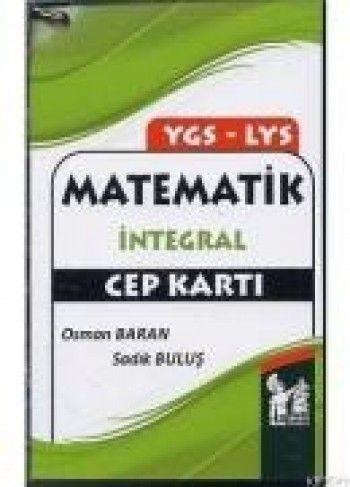 Altınpost YGS LYS Matematik İntegral Cep Kartı