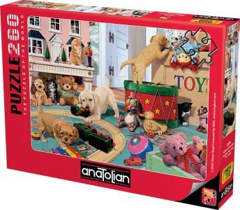 Anatolian Eğlenceli Oyunlar Puppies Play Time 260 Parça Puzzle - Yapboz