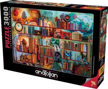 Anatolian Gizemli Kitaplık 3000 Parça Puzzle - Yapboz