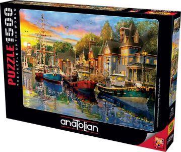 Anatolian Liman Işıkları 1500 Parça Puzzle - Yapboz