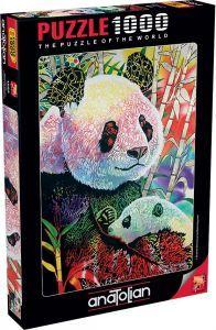 Anatolian Panda/ Rainbow Panda 1000 Parça Puzzle - Yapboz
