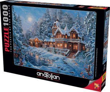Anatolian Sihirli Kış/ Winter Magic 1000 Parça Puzzle - Yapboz