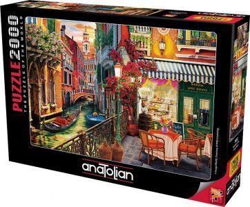 Anatolian Venetian Cafe  2000 Parça Puzzle - Yapboz