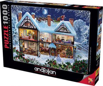 Anatolian Yılbaşı/ Seasons House 1000 Parça Puzzle - Yapboz