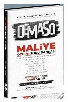 Anıl Ulaş Girgin 2020 KPSS A Grubu DEMASO Maliye Özgün Soru Bankası 2. Baskı