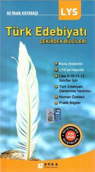 Anka Eğitim Yayınları LYS Türk Edebiyatı Çekirdek Bilgileri Cep Kitabı