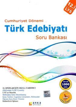 Anka Eğitim Yayınları LYS Cumhuriyet Dönemi Türk Edebiyatı Soru Bankası