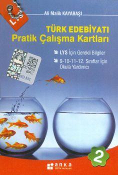 Anka Eğitim Yayınları LYS Türk Edebiyatı Pratik Çalışma Kartları 2 Cep Boy