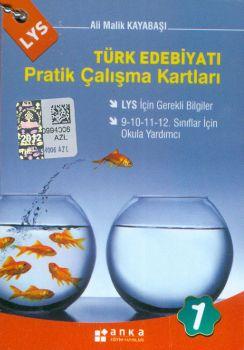 Anka Eğitim Yayınları LYS Türk Edebiyatı Pratik Çalışma Kartları 1 Cep Boy