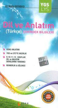 Anka Eğitim Yayınları YGS LYS Dil ve Anlatım Türkçe Çekirdek Bilgileri Konu Anlatımı Cep