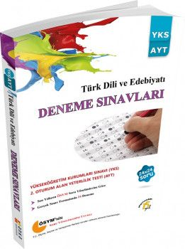 Anka Eğitim Yayınları YKS 2. Oturum AYT Türk Dili ve Edebiyatı 24x24 Deneme Sınavları