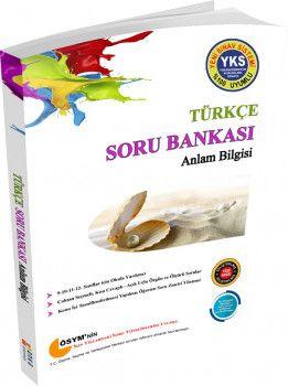 Anka Eğitim Yayınları YKS 1. Oturum TYT Türkçe Anlam Bilgisi Soru Bankası