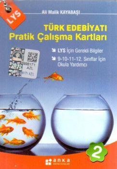 Anka Eğitim Yayınları LYS Türk Edebiyatı Pratik Çalışma Kartları