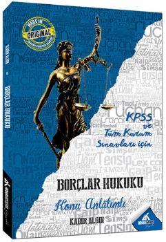 Ankara Kariyer Yayınları KPSS A Grubu Borçlar Hukuku Konu Anlatımlı