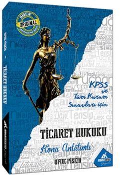 Ankara Kariyer Yayınları KPSS A Grubu Ticaret Hukuku Konu Anlatımlı