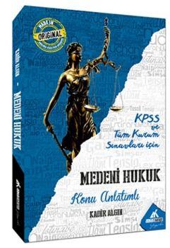 Ankara Kariyer Yayınları KPSS A Grubu Medeni Hukuk Konu Anlatımlı