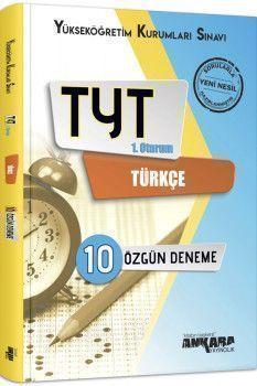 Ankara Yayıncılık TYT Türkçe 10 Özgün Deneme