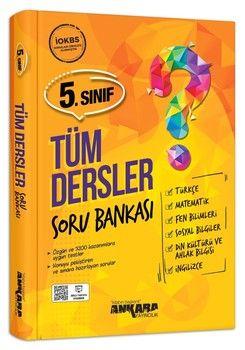 Ankara Yayıncılık 5. Sınıf Tüm Dersler Soru Bankası