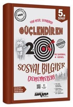 Ankara Yayıncılık 5. Sınıf Sosyal Bilgiler Güçlendiren 20 Deneme Sınavı