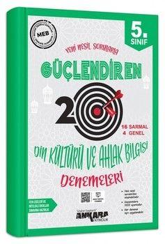 Ankara Yayıncılık 5. Sınıf Din Kültürü ve Ahlak Bilgisi Güçlendiren 20 Deneme Sınavı
