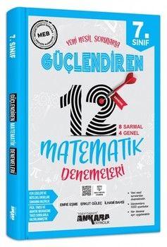 Ankara Yayıncılık 7. Sınıf Matematik Güçlendiren 12 Deneme Sınavı