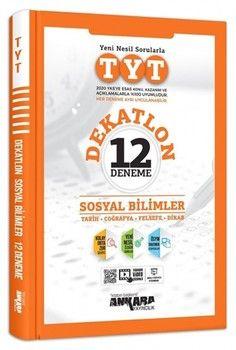 Ankara Yayıncılık TYT Sosyal Bilimler Dekatlon 12 Deneme
