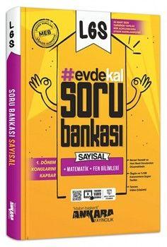 Ankara Yayıncılık 8. Sınıf LGS 1. Dönem Evde Kal Sayısal Soru Bankası