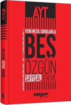 Ankara Yayıncılık AYT Sayısal Yeni Nesil Sorularla 5 Özgün Deneme