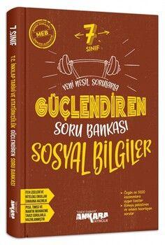 Ankara Yayıncılık 7. Sınıf Sosyal Bilgiler Güçlendiren Soru Bankası