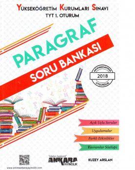 Ankara Yayıncılık YKS 1. Oturum TYT Paragraf Soru Bankası
