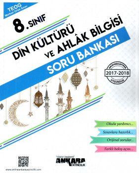 Ankara Yayıncılık 8. Sınıf Din Kültürü ve Ahlak Bilgisi Soru Bankası