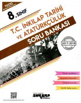 Ankara Yayıncılık 8. Sınıf T.C. İnkılap Tarihi ve Atatürkçülük Soru Bankası