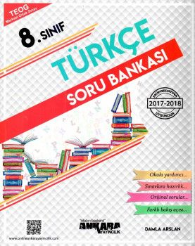 Ankara Yayıncılık 8. Sınıf Türkçe Soru Bankası