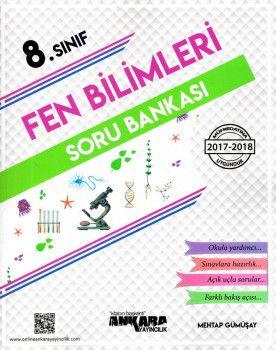 Ankara Yayıncılık 8. Sınıf Fen Bilimleri Soru Bankası