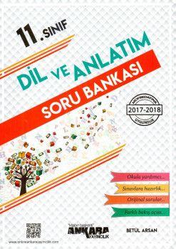 Ankara Yayıncılık 11. Sınıf Dil ve Anlatım Soru Bankası