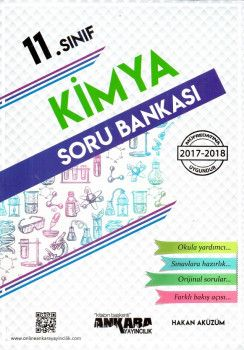 Ankara Yayıncılık 11. Sınıf Kimya Soru Bankası