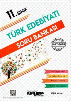 Ankara Yayıncılık 11. Sınıf Türk Edebiyatı Soru Bankası
