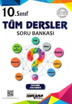 Ankara Yayıncılık 10. Sınıf Tüm Dersler Soru Bankası