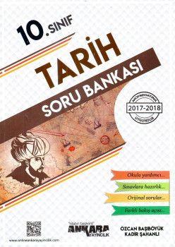 Ankara Yayıncılık 10. Sınıf Tarih Soru Bankası